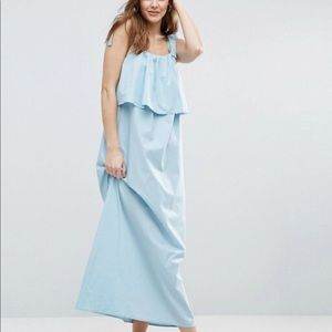 ASOS Double Layer Maxi Dress